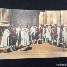 Postales: POSTAL FRANCIA PIRINEOS LES VIEUX COSTUMES PYRENEENS 8 CHANTEURS BAGNERES DE BIGORRE . Lote 196818697