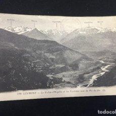 Postales: POSTAL FRANCIA PIRINEOS158 LOURDES VALLE ARGELES PYRENEES PIC DU JER LEVY MEURDIN . Lote 196818710