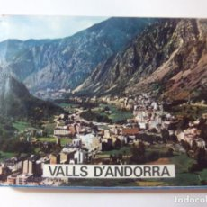 Postales: ACORDEON 24 POSTALES VALLS D'ANDORRA. Lote 197596661