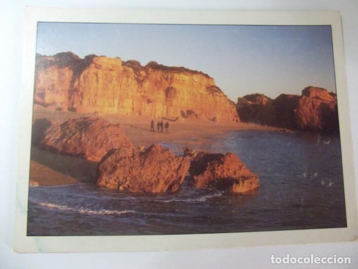 POSTAL ALBUFEIRA PRAIA DO CASTELO PORTUGAL SOFOTO (Postales - Postales Extranjero - Europa)