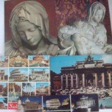 Postales: LOTE 5 POSTALES ROMA. Lote 197699587