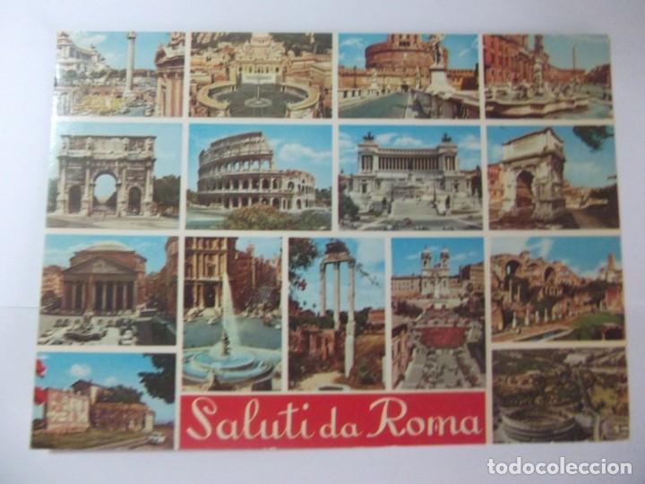 Postales: lote 5 postales roma - Foto 5 - 197699587