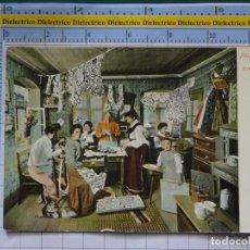 Cartes Postales: POSTAL DE ALEMANIA. AÑO 1922. POSAMENTEN INDUSTRIE ERZGEBIRGE GORLSTUBE MUJERES COSTURERAS. 2738. Lote 198486966