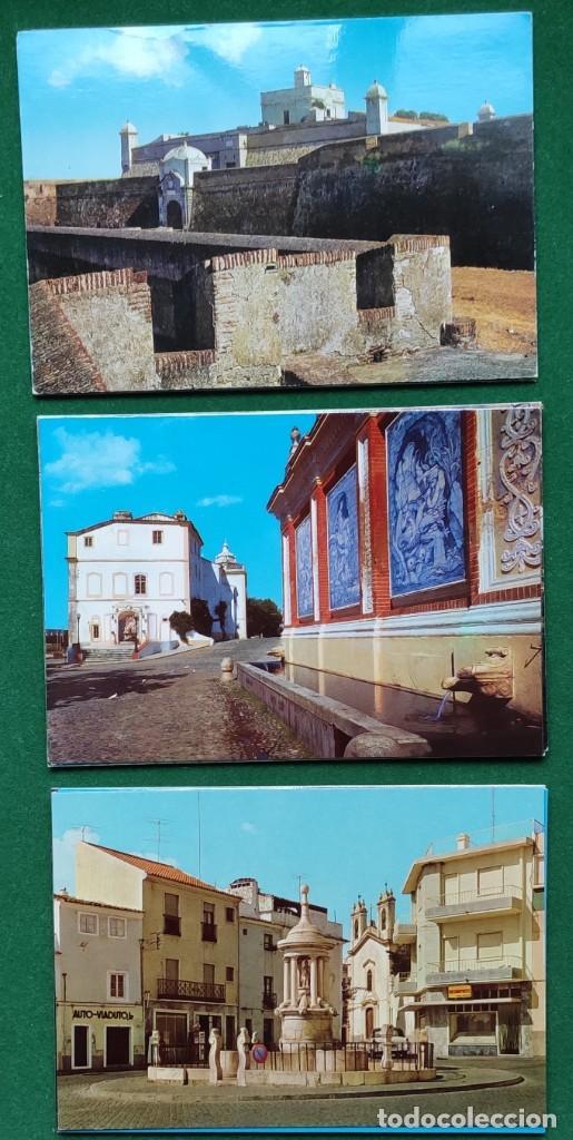Postales: Lote de 83 postales de Elvas (Portugal) - Foto 2 - 198504548