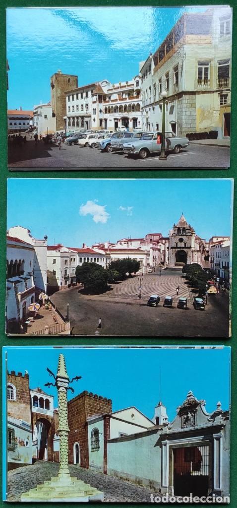 Postales: Lote de 83 postales de Elvas (Portugal) - Foto 3 - 198504548