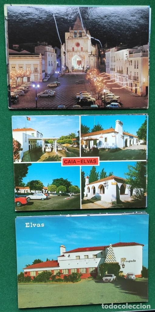 Postales: Lote de 83 postales de Elvas (Portugal) - Foto 4 - 198504548