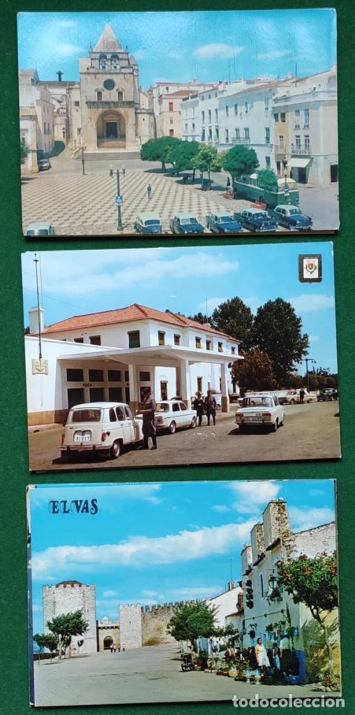 Postales: Lote de 83 postales de Elvas (Portugal) - Foto 5 - 198504548
