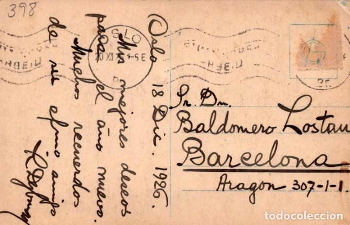Postales: POSTAL OSLO - ESQUIADORES - NORUEGA - Foto 2 - 198603415