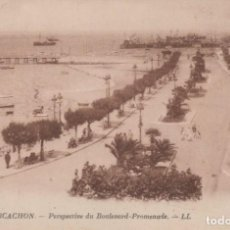 Postales: POSTAL FRANCIA ARCACHON PERSPECTIVE DU BULEVARD 37 LL. Lote 198603716
