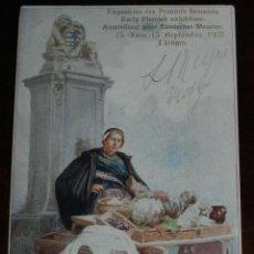 Postales: POSTAL ILUSTRADA DE EXPOSITION DES PRIMITIFS FLAMANDS, BRUGES, 1902, NO CIRCULADA. . Lote 198604385