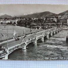 Postales: TARJETA POSTAL - GENEVE - PONT DU MONT BLANC 8005. Lote 198604518