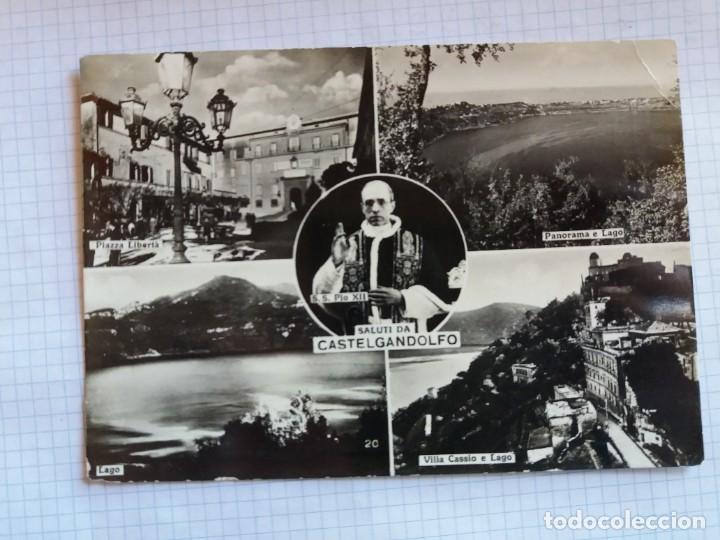 TARJETA POSTAL - SALUTI DA CASTELGANDOLFO - ITALIA (Postales - Postales Extranjero - Europa)