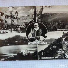 Postales: TARJETA POSTAL - SALUTI DA CASTELGANDOLFO - ITALIA. Lote 198606688