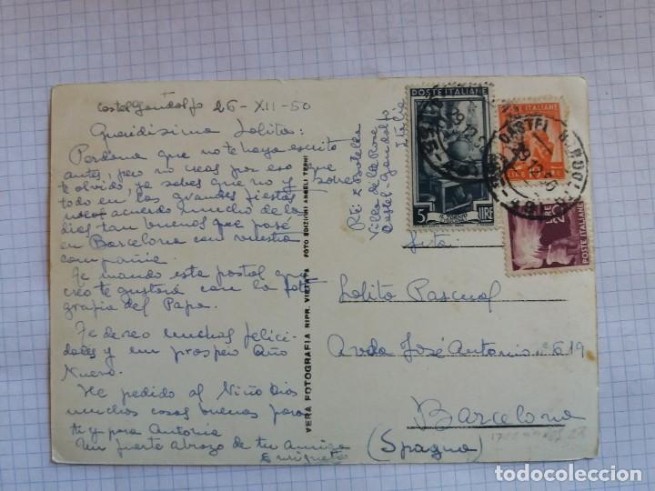 Postales: TARJETA POSTAL - SALUTI DA CASTELGANDOLFO - ITALIA - Foto 2 - 198606688