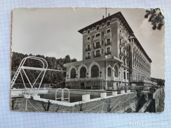 TARJETA POSTAL - FONT-ROMEU - LE GRAND HOTEL ET SA PISCINE - NICE ITALIA (Postales - Postales Extranjero - Europa)