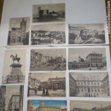 Postales: LOTE DE 12 POSTALES DE GÉNOVA ITALIA. Lote 199069893