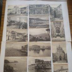 Postales: LOTE DE 16 POSTALES DE NAPOLI - NAPOLES. Lote 199098262