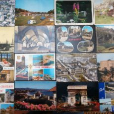 Postales: FRANCIA, LOTE DE 34 POSTALES, VER FOTOS. Lote 199271617