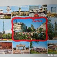 Postales: POSTAL BERLIN AÑO 1990 MURO DE BERLIN. Lote 199621396