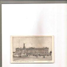 Postales: 1653. LONDRES. BUCKINGHAM PALACE & VICTORIA MEMORIAL. Lote 199969027