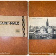 Postales: BLOC DE POSTALES. SAINT-MALO. FRANCIA. LL ND. VER FOTOS. . Lote 200113193