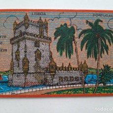 Postales: HECHA DE CORCHO, TORRE DE BELEM, LISBOA, POSTAL 0283. Lote 200731840