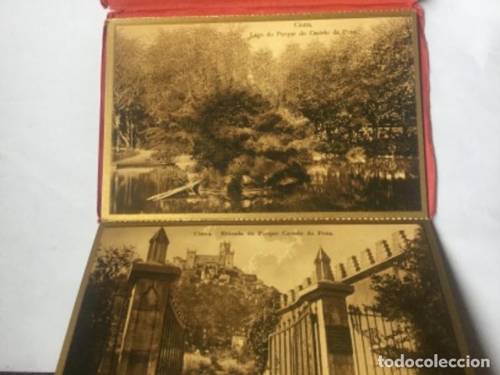 Postales: RECORDACAO DE CINTRA - RECUERDO - G & F - 9 POSTALES - SIN CIRCULAR - PORTUGAL - Foto 2 - 201104832