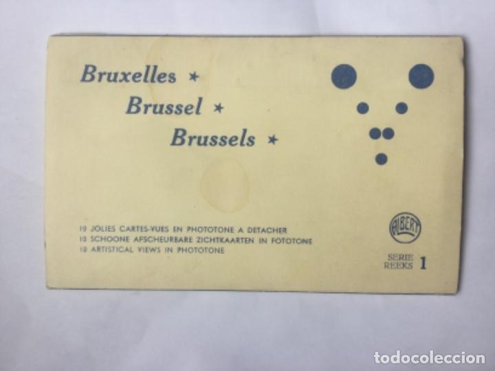 10 JOLIES CARTES-VUES EN PHOTOTONE A DETACHER BRUXELLES BELGICA - SERIE 1 - SIN CIRCULAR -A. DOHMEN (Postales - Postales Extranjero - Europa)