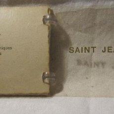 Postales: ALBUM CON 10 FOTOGRAFIAS DE SAINT JEAN DE LUZ. LADYCAP. CIE ARTS PHOTOMÉCANIQUES. PARIS. 6,5 X 9 CM. Lote 201228462