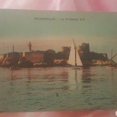 Postales: POSTAL MARSEILLE /LE CHÂTEAU D IF. Lote 201299842