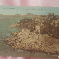 Postales: POSTAL MARSELLE / LA CORNICHE. Lote 201302226