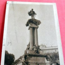 Postales: POSTAL - TORINO - MONUMENTO A VITTORIO EMANUELE II - AÑO 1932 CIRCULADA CON SELLOS Y MATASELLOS. Lote 201330361