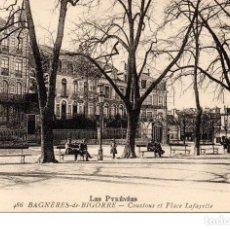 Postales: POSTAL ANTIGUA DE BAGNERES DE BIGORRE (FRANCIA). Lote 201767972