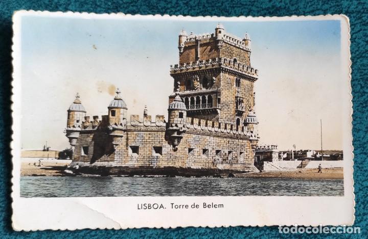 POSTAL LISBOA. TORRE DE BELEM (Postales - Postales Extranjero - Europa)