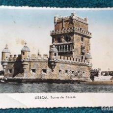Postales: POSTAL LISBOA. TORRE DE BELEM. Lote 201967018