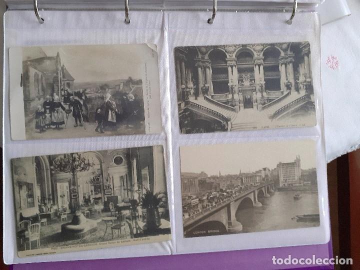 Postales: Lote de 30 postales antiguas de Europa - Foto 3 - 202354845