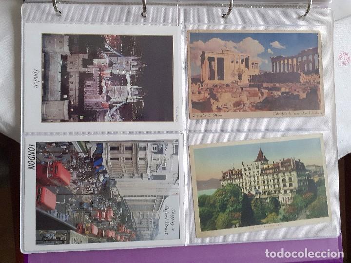 Postales: Lote de 30 postales antiguas de Europa - Foto 5 - 202354845