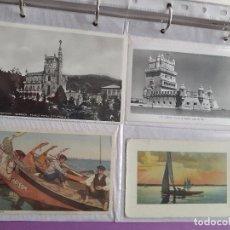 Postales: LOTE DE 12 POSTALES ANTIGUAS DE PORTUGAL. Lote 202355255