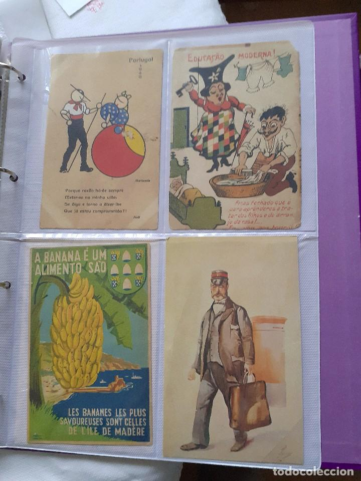 Postales: Lote de 12 postales antiguas de Portugal - Foto 3 - 202355255