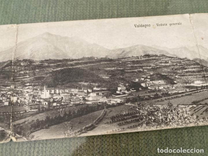 Postales: ANTIGUA POSTAL ITALIA VALDAGNO VISTA GENERAL VEDUTA GENÉRALE DESPLEGABLE - Foto 3 - 202939011