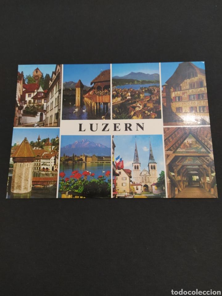 POSTAL SUIZA - LUZERN (Postales - Postales Extranjero - Europa)