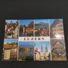 Postales: POSTAL SUIZA - LUZERN. Lote 203207057