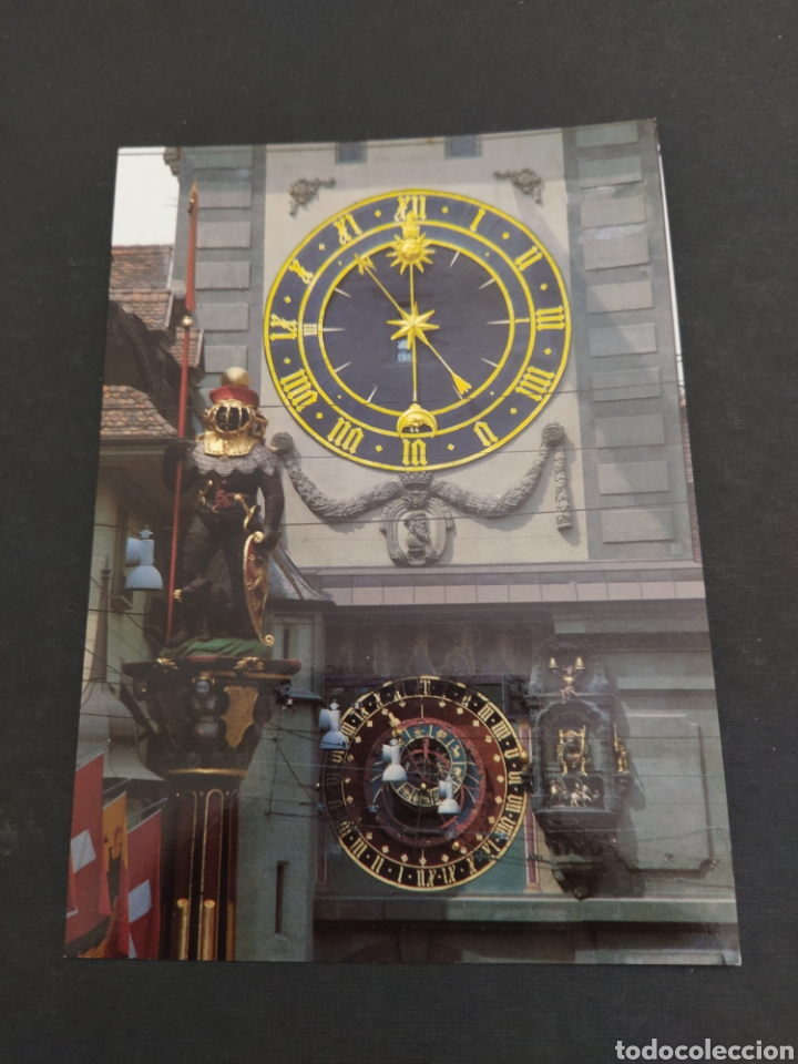 POSTAL BERNA (SUIZA) - DETALLE TORRE DEL RELOJ - SIN CIRCULAR (Postales - Postales Extranjero - Europa)