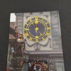 Postales: POSTAL BERNA (SUIZA) - DETALLE TORRE DEL RELOJ - SIN CIRCULAR. Lote 203207322