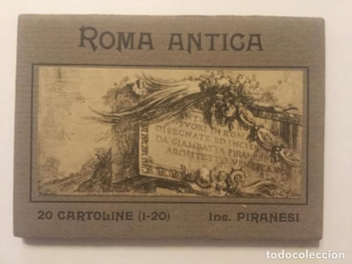 ROMA ANTICA - 20 CARTOLINE POSTALES - INC. PIRANESI - EDIZ. BRUNNER & C - SIN CIRCULAR - (Postales - Postales Extranjero - Europa)