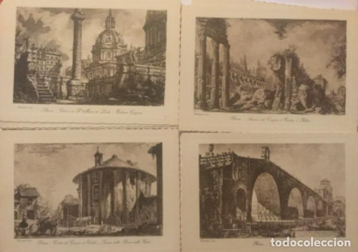 Postales: ROMA ANTICA - 20 CARTOLINE POSTALES - INC. PIRANESI - EDIZ. BRUNNER & C - SIN CIRCULAR - - Foto 3 - 203815140
