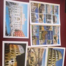 Postales: LOTE 6 POSTALES DE ROMA SIN CIRCULAR.. Lote 204278212