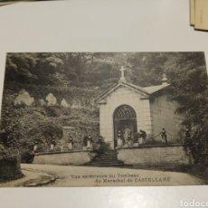 Postales: VUE EXTERIEURE DU TOMBEAU DU MARECHAL DE CASTELLANE. Lote 204360571