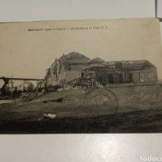 Postales: OSTRICOURT, DESPUÉS DE LA GUERRA. Lote 204361861