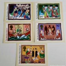 Postales: COLECCION 5 POSTALES CONMEMORATIVAS. Lote 204443193